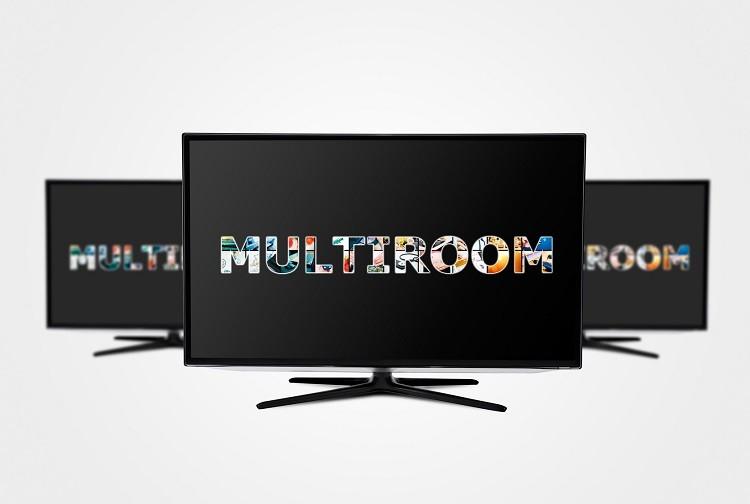 Multiroom - podział sygnału TV na kilka odbiorników