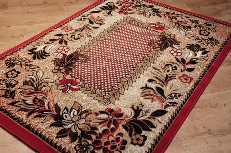 Dywany nowoczesne w stylu ludowym