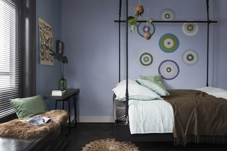 Brak zasad, czyli aranżacja sypialni w stylu boho