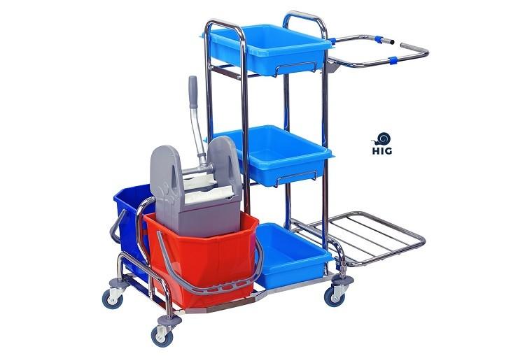 Jak ułatwić sobie sprzątanie dzięki wózkowi serwisowemu?