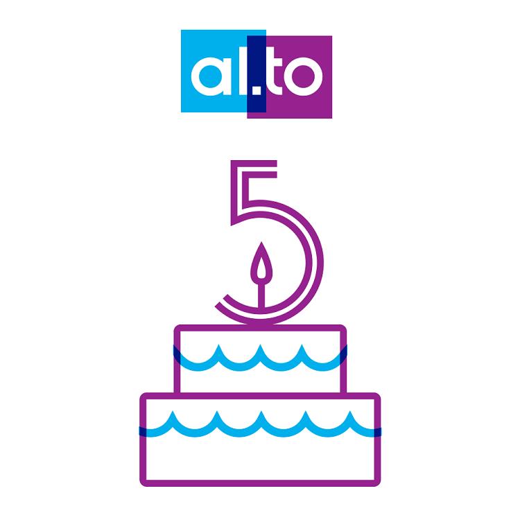 Pięć lat sklepu al.to i pięć sposobów na świętowanie