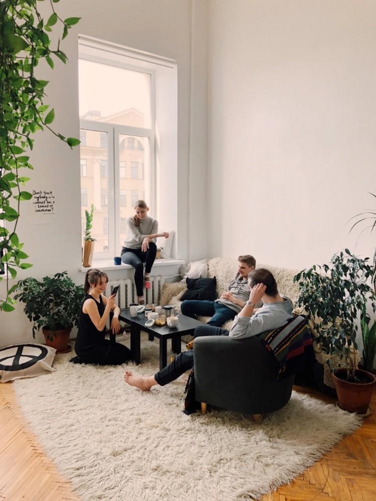 Piękny i komfortowy salon