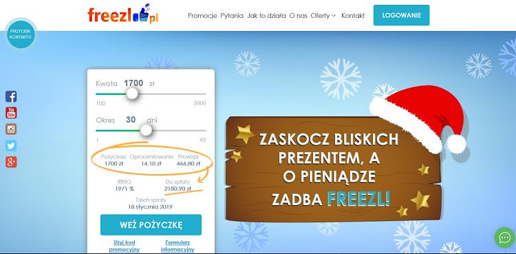 Jak otrzymać pożyczkę we Freezl?