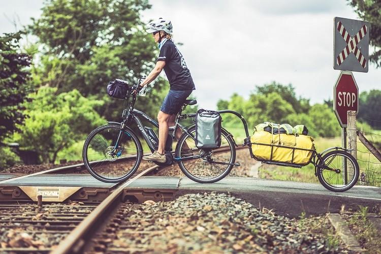 Zawody kolarskie na rowerach elektrycznych