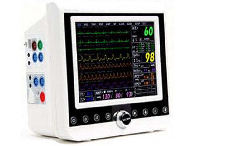 Monitorowanie parametrów życiowych pacjenta - kardiomonitory