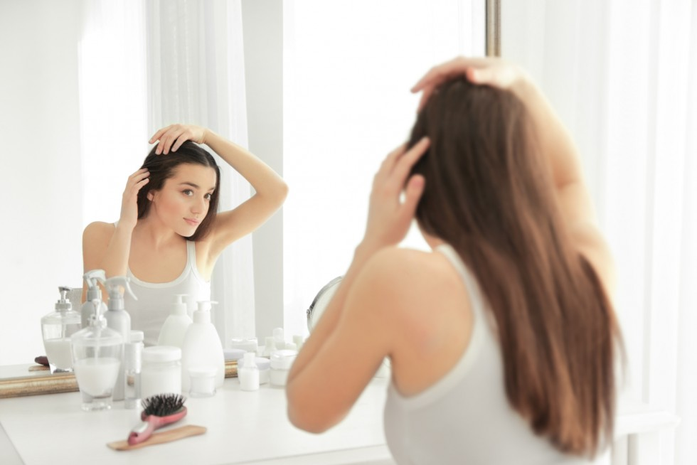 Co na suche włosy?