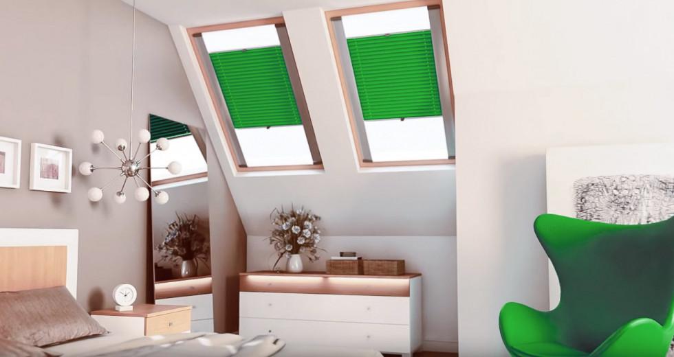 Plisy dachowe, czyli eleganckie rozwiązanie do okien dachowych