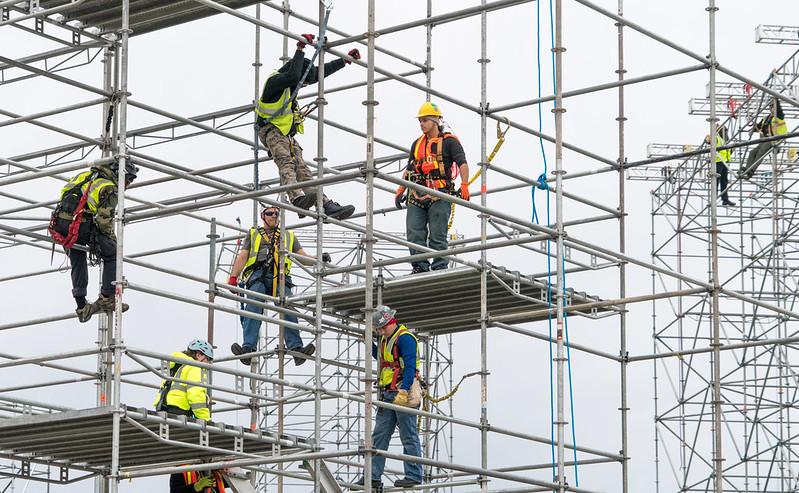 Bezpieczeństwo w trakcie robót budowlanych na wysokości