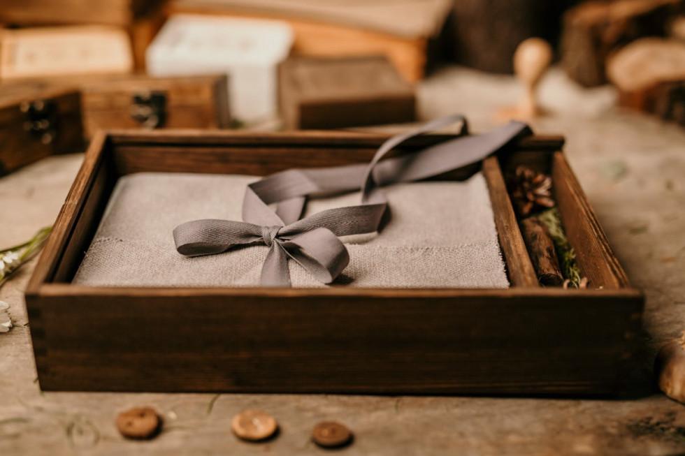 Drewniany Sklep - niepowtarzalne pudełka do przechowywania zdjęć i inne…