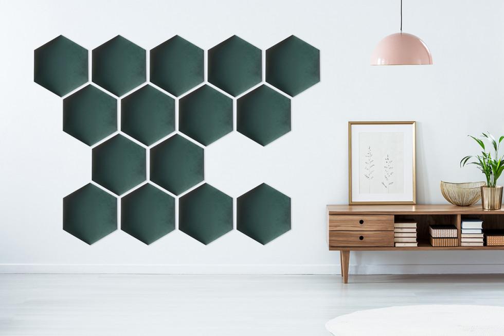 Unikalna i wielofunkcyjna dekoracja ścienna w postaci panelu tapicerowanego